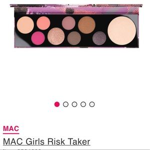 MAC Risk Taker Eyeshadow/ Highlighter Palette